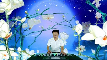 秭归谭总电子琴音乐《小背篓》