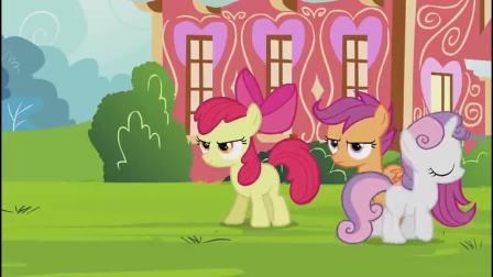小马宝莉:甜心宝贝生气了,理直气壮将紫悦公主的事告知大家