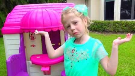 国外儿童时尚,小萝莉的玩耍时间,快来看看吧