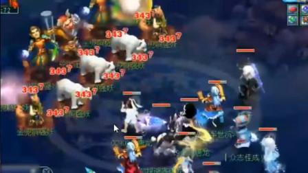 梦幻西游:老王展示任务大唐输出天花板,一个大唐当4个龙宫用