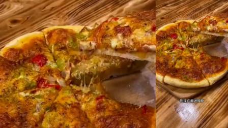 披萨这样做比卖的还好吃,不爱吃披萨的我,爱上这道美食!
