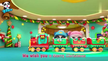 宝宝巴士欢乐圣诞:圣诞到了,小火车帮助奇奇妙妙一起装饰圣诞树