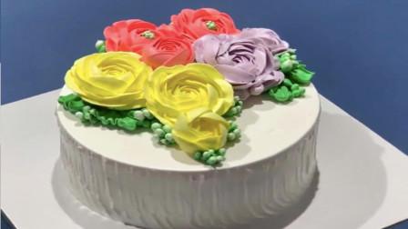 简单而快速的蛋糕装饰教程|美味的巧克力蛋糕食谱系列(2)