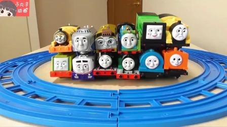 托马斯詹姆斯小动物火车来袭