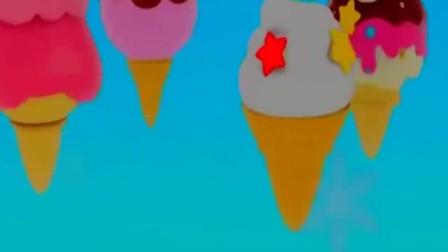 宝宝巴士:小猫在冰淇淋贩卖机,买到了自己喜欢的冰淇淋,真开心(2)