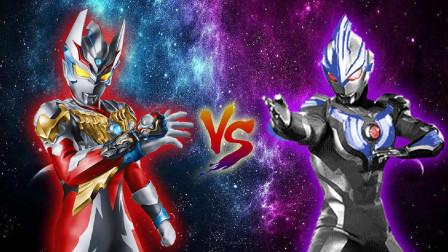 令迦奥特曼VS黑暗银河奥特曼!奥特曼格斗进化0修改皮肤!
