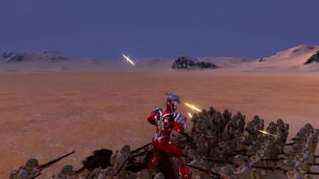 史诗战争模拟器:一个捷德奥特曼VS一百名古代士兵,谁会取胜?