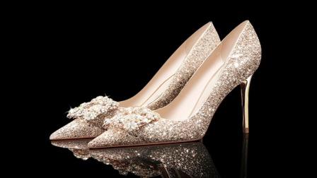 十二星座小仙女超闪亮高跟鞋,时尚好看,吸睛首选!