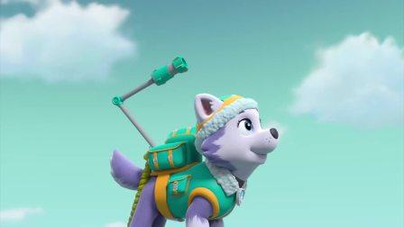 汪汪队:莱德救下小鹿,喂小鹿喝热奶,莱德真有爱心!