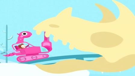 怎么办!霸王龙被三角龙吃掉了!