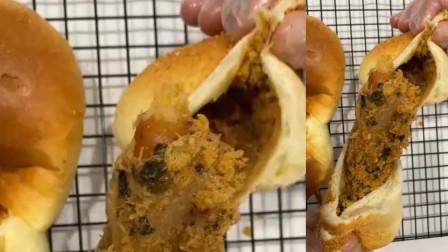 小龙虾怎么吃都吃不够,打造一款小龙虾的面包给大家