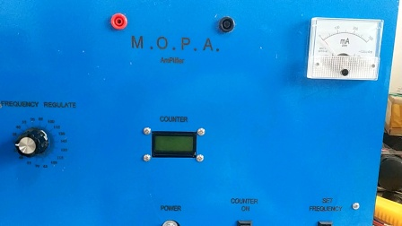 Rife MOPA panel and overall introduction. Similar to GB4000 MOPA
