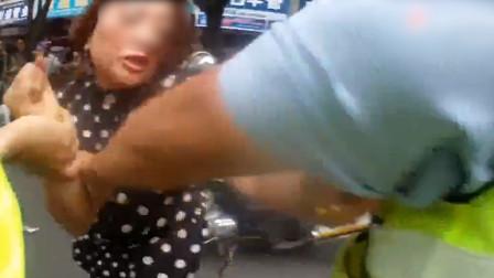 女子逆行发生交通事故拒不配合还咬伤交警 最后结局令人舒适