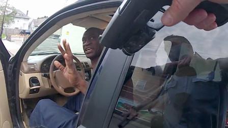 """20美元引发的大事件:黑人男子""""跪地致死""""完整版视频"""