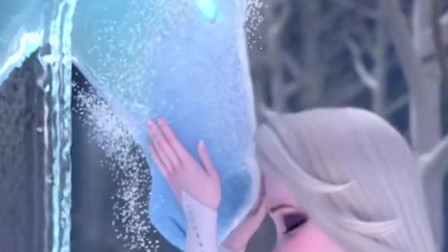 冰雪奇缘2:小时候的艾莎,简直太可爱了