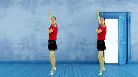 蓝莓思洁广场舞 流行32步健身舞《朝思暮想》青春旋律 舞步动感时尚