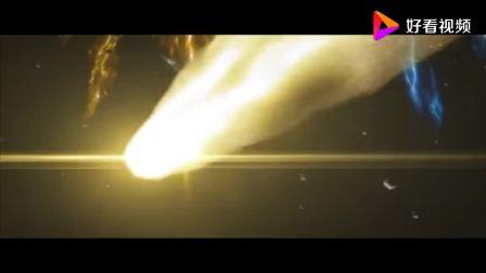 圣斗士星矢:射手座和山羊座在宇宙大战,场面堪比奥特曼