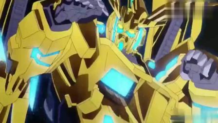 高达:高达NT和独角兽三号机凤凰登场了,剑斩了吉翁佐尔坦,好厉害