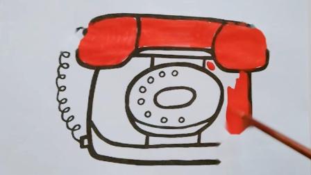 小猪佩奇家的电话机