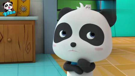 《宝宝巴士奇妙汉字》谁偷了月饼  熊猫怀疑大黄狗就是月饼大盗