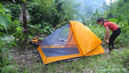独自丛林,露营,野外生存