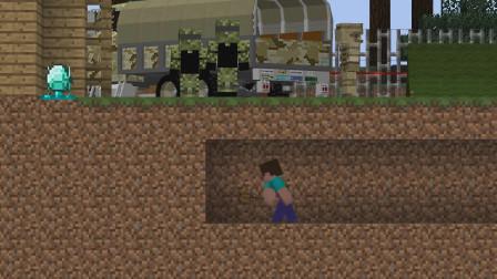 我的世界动画-菜鸟的钻石挑战-JAD
