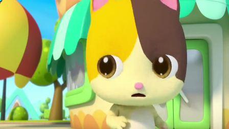 宝宝巴士:草莓香草巧克力,各种口味冰淇淋,确定不来一个吗