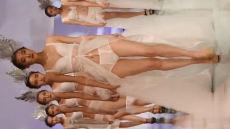 深圳siuf內衣展品牌秀漂亮性感模特走秀精彩片段三