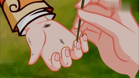 佟掌柜帮小贝剃指甲灰,不想被十娘误会,还以为掌柜的在虐待小贝