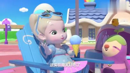 彩虹宝宝:迷宫里竟然有猫头鹰,它帮彩虹宝宝找到出口