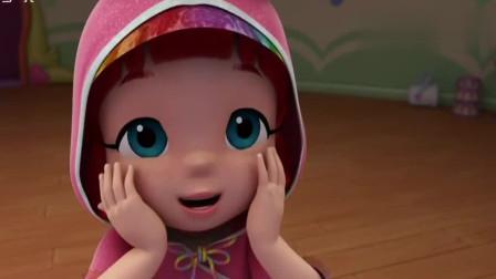 彩虹好宝宝:冰灵公主上台跳芭蕾舞真的好漂亮,冰凌公主最美彩虹