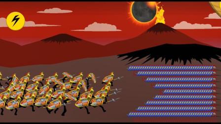火柴人战争遗产:敌人进攻,还是黄金兵厉害