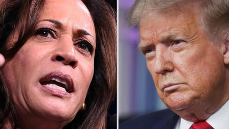 拜登提名哈里斯为总统竞选搭档特朗普:我很惊讶她令人厌恶!