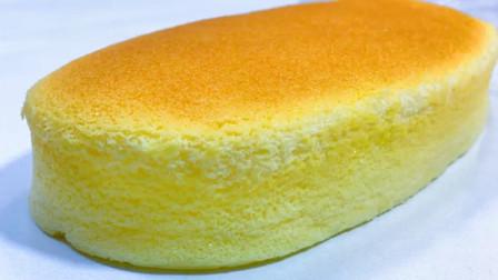 自制酸奶蛋糕,2个鸡蛋和1盒酸奶轻松搞定,细腻绵软,入口即化
