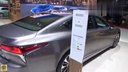2020款雷克萨斯LS500hAWD, 外观内饰实拍, 太惊艳了!
