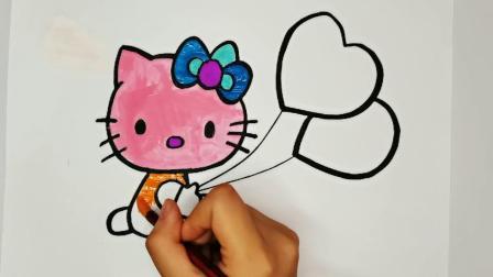 凯蒂猫和热气球