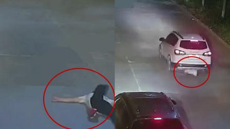 醉酒高中生躺在路上 惨被酒驾司机开车碾压拖行当场死亡