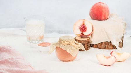 美味蜜桃酱,晶莹剔透,做法简单,夏日甜品少不了它!