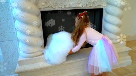 美国儿童时尚,安妮准备了新的裙子,多么开心呢