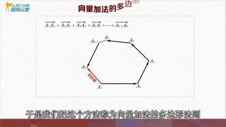 高中数学向量加法的多边形法则