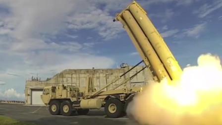 世界最先进的萨德末段高空区域防御系统发射,机动性能很强悍