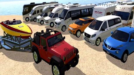 【永哥玩游戏】汽车模拟城市驾驶停靠 吉普车驾驶停靠环城赛