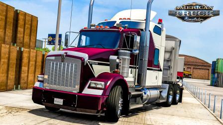 美洲卡车模拟 - 爱达荷州 #16:驾驶肯沃斯T800运送粮食至埃尔科 | American Truck Simulator