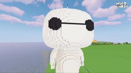 我的世界动画-如何造大白-NOOB MINERS