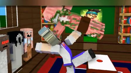 我的世界:僵尸猎人和同学们在玩什么游戏呢?