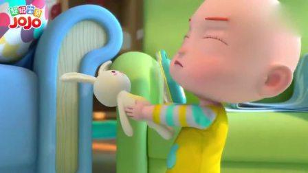 超级宝贝:姐姐扮成小护士,弟弟扮做小医生,合作为兔兔治病