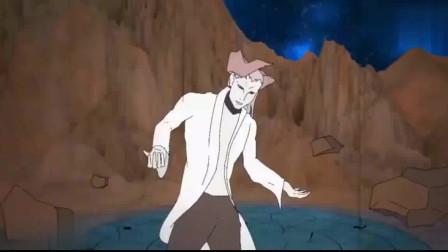 火影忍者:佐助第一次见到川木,却被川木的父亲瞬移到了月球,鸣人佐助都懵了