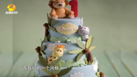 这蛋糕也太可爱了!翻糖蛋糕师做的哪是蛋糕,这分明做的是艺术品