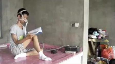 """带呼吸机读书!"""" #庞贝病 """"男孩 #高考 662分:未来生活一定很好…… #正能量"""