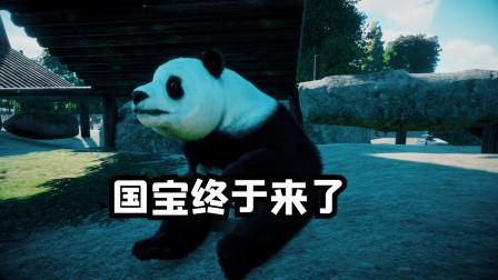 动物园之星 建园第五天 终于迎来了国宝熊猫 猩哥也终于找对象了